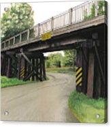Lake St. Rr Overpass Acrylic Print