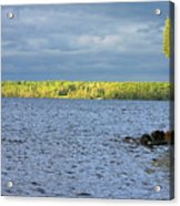 Lake Superior Shoreline After A Brief Storm Acrylic Print