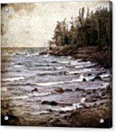 Lake Superior Waves Acrylic Print