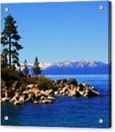 Lake Tahoe At Sand Harbor Acrylic Print