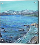 Lake Tahoe From Kings Beach California Acrylic Print