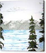Lake Tahoe In Summer Acrylic Print