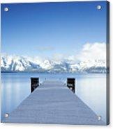 Lake Tahoe Panorama Acrylic Print