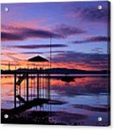 Lake Tahoe Rising Acrylic Print