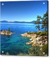 Lake Tahoe State Park Nevada Acrylic Print by Scott McGuire