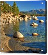 Lake Tahoe Tranquility Acrylic Print