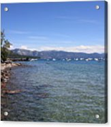 Lake Tahoe Waterscape Acrylic Print