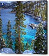 Lake Tahoe Winterscape Acrylic Print