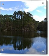 Lake Thomas Hilton Head Acrylic Print