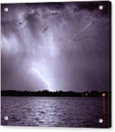 Lake Thunderstorm Acrylic Print