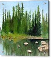 Lake View 1 Acrylic Print