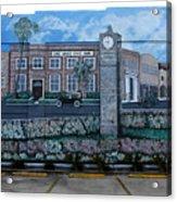 Lake Wales Florida Mural Acrylic Print