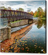 Lake Waterford Fall Waterscape Acrylic Print
