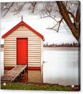 Lake Wendourie Boathouse Acrylic Print