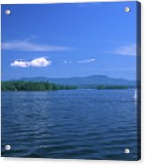 Lake Winnipesaukee Summer Day Acrylic Print by John Burk