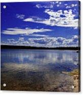 Lake Wollumboola Memories  Acrylic Print