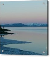 Lake Yellowstone Acrylic Print