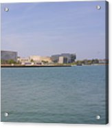 Lakefront On A Clear Day Acrylic Print