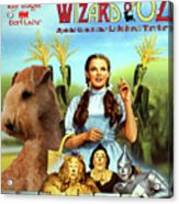 Lakeland Terrier Art Canvas Print - The Wizard Of Oz Movie Poster Acrylic Print