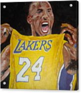 Lakers 24 Acrylic Print