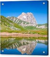 Lakes And Peaks Acrylic Print