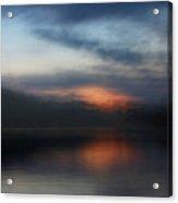 Lake's Last Light Acrylic Print
