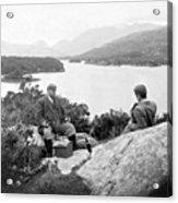Lakes Of Killarney - Ireland - C 1896 Acrylic Print