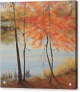 Lakeside Dancers IIII Acrylic Print