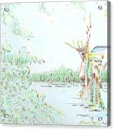 Lakeside Acrylic Print