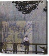 Lakeside Fog- Colorado Acrylic Print