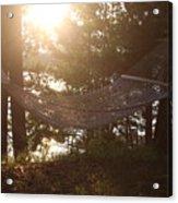 Lakeside Hammock Acrylic Print