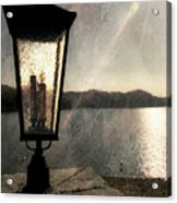 Lakeside Lantern Acrylic Print