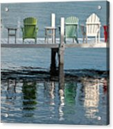Lakeside Living Acrylic Print