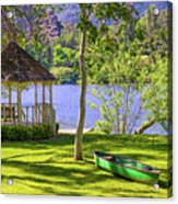 Lakeside Relaxation Acrylic Print