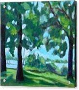 Lakeside Shadows Acrylic Print