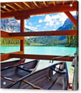 Lakeview From The Boathouse Acrylic Print