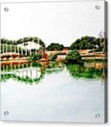 Lakeview Reflections Acrylic Print