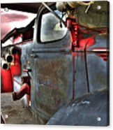 Lakewood Mountair Fire Dept.  Acrylic Print by Kevin Munro