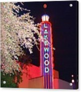 Lakewood Theater Acrylic Print