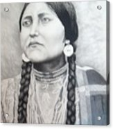 Lakota Woman Acrylic Print