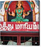 Lakshmi And Her Elephants, Valparai Acrylic Print
