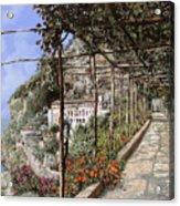 L'albergo Dei Cappuccini-costiera Amalfitana Acrylic Print by Guido Borelli