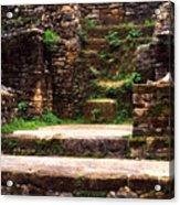 Lamanai Temple Acrylic Print