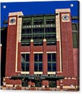 Lambeau Field Green Bay Packers Acrylic Print