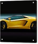 Lamborghini Aventador Lp700-4 Acrylic Print