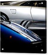 Lamborghini Countach And Lamborghini Diablo Acrylic Print