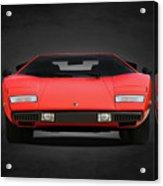 Lamborghini Countach Acrylic Print