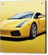 Lamborghini Gallardo 'banana Republic' II Acrylic Print