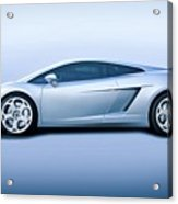 Lamborghini Gallardo 'profile Of Terror' Acrylic Print