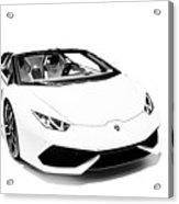 Lamborghini Huracan Lp610-4 Spyder Acrylic Print